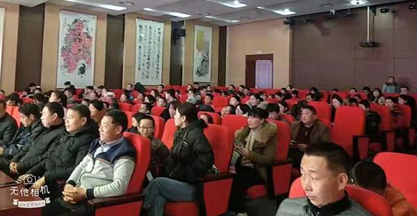 桓文书院书法进万家公益讲堂在菏泽市图书馆举行