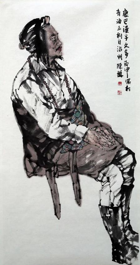 国画名家陈琳主题创作状态访谈——《解放军美术书法》杂志